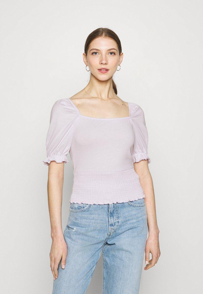 Even&Odd - Basic T-shirt - lilac