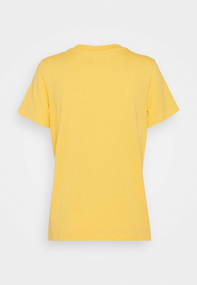 CORE - Jednoduché triko - yellow