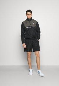Sergio Tacchini - ROB SHORT - Sports shorts - anthracite - 1