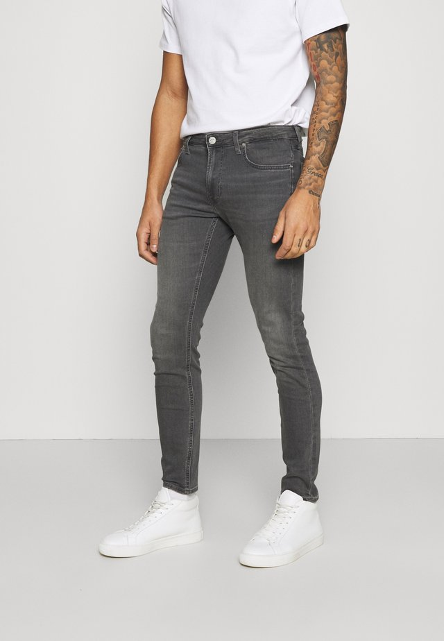 MALONE - Jeans slim fit - mid eden