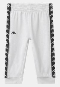 Kappa - VARRIS SET UNISEX - Trainingsanzug - bright white - 2