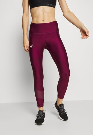 PROJECT ROCK ANKLE CROP - Collants - level purple