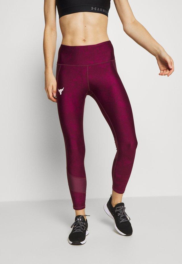 PROJECT ROCK ANKLE CROP - Leggings - level purple
