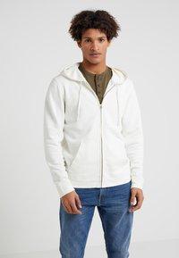 Outerknown - SUR ZIP HOODIE - Zip-up hoodie - salt - 0