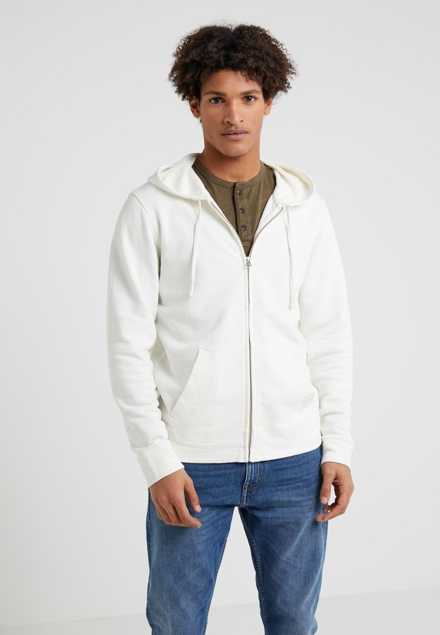 SUR ZIP HOODIE - veste en sweat zippée - salt
