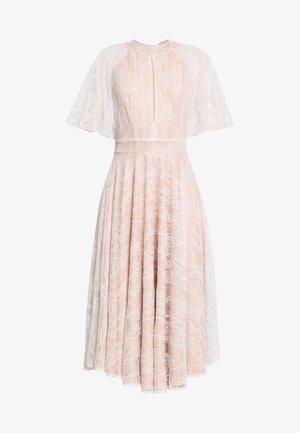 Společenské šaty - ivory/nude