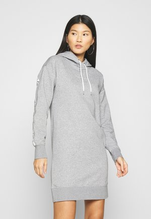 HOODIE DRESS - Day dress - grey