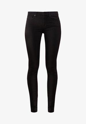 Skinny džíny - rinsed black