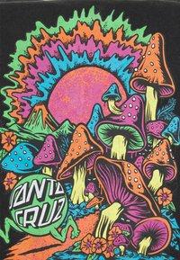 Santa Cruz - EXCLUSIVE TOXIC WASTE UNISEX  - T-shirt imprimé - black acid wash - 2