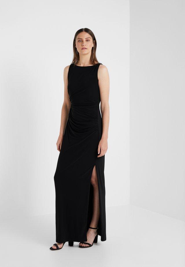 NASARRIO TRIM - Maxi dress - black