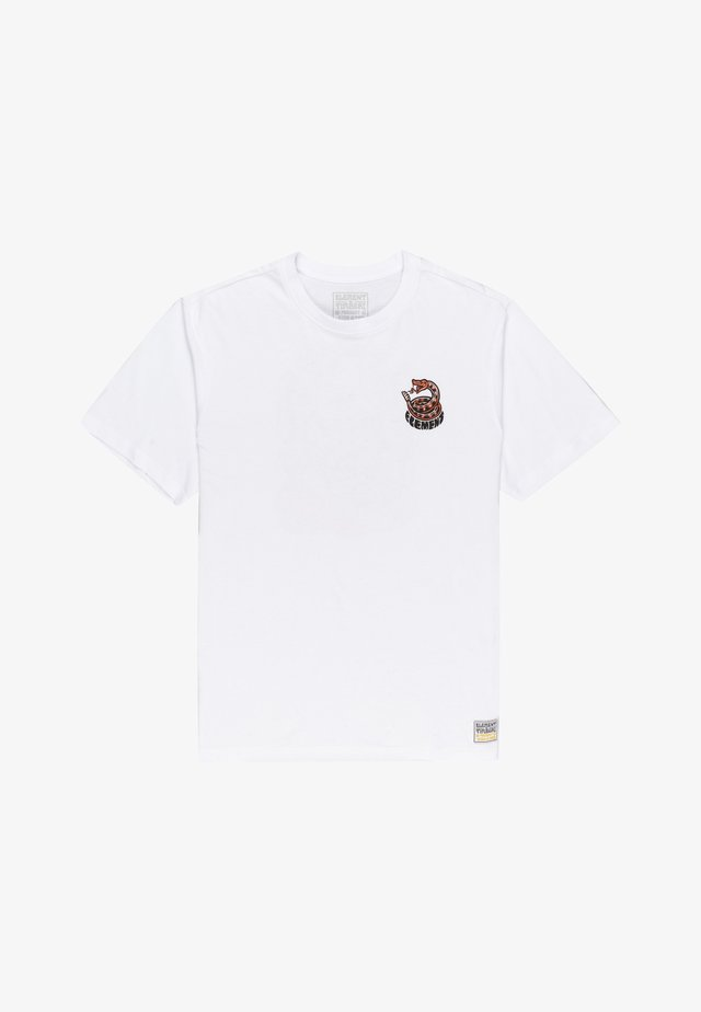 TIMBER - T-shirt imprimé - optic white