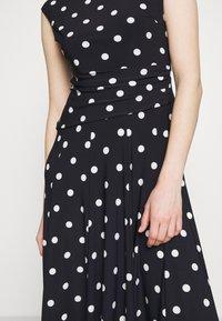 Lauren Ralph Lauren - PRINTED MATTE DRESS - Jersey dress - navy - 6