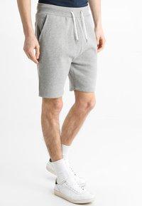 YOURTURN - Teplákové kalhoty - mottled grey - 0