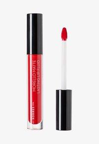 Korres - MORELLO MATTE LASTING LIP FLUID - Liquid lipstick - 53 red velvet - 0