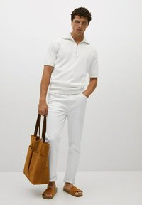 Mango - AZULEJOP - Polo shirt - ivoire - 1