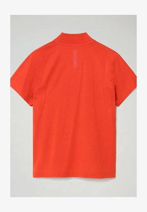 S-OODI - T-shirts print - orange clay