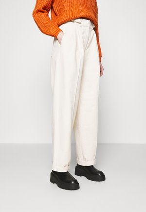 CHIARA - Relaxed fit jeans - beige