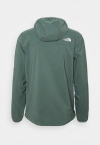 The North Face - NIMBLE HOODIE - Soft shell jacket - agave green - 7