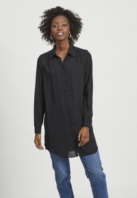 Vila - VILUCY NOOS - Button-down blouse - black - 0