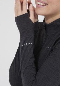 Endurance - CANNA  - Sports shirt - 1111 black melange - 1