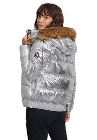 Superdry - Winter jacket - silver metallic - 2
