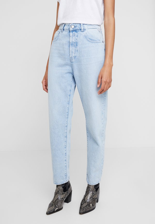 TYNA - Jeansy Relaxed Fit - lightblue