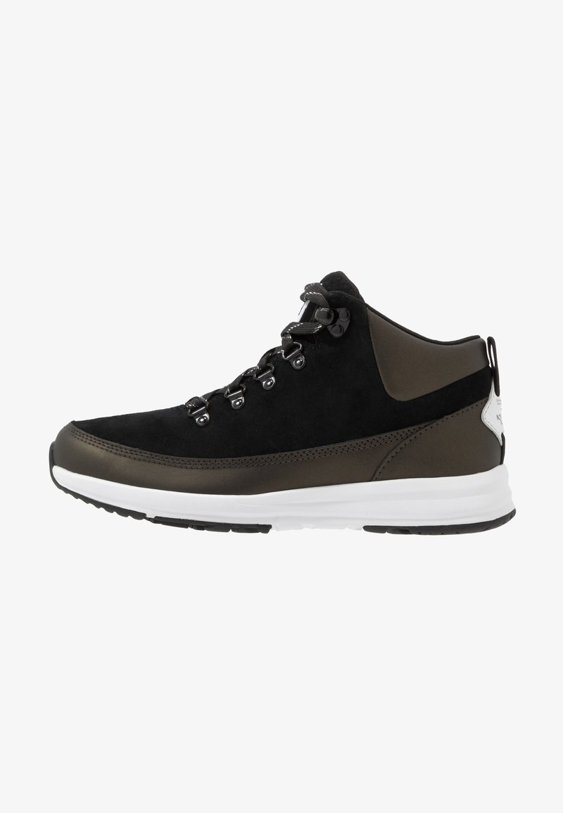 The North Face - Hiking shoes - black/white