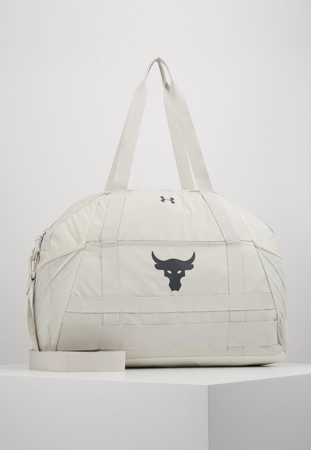 PROJECT ROCK GYM BAG - Sports bag - summit white/pitch gray