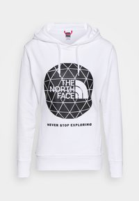 The North Face - GEODOME HOODIE - Hoodie - white - 4