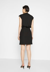 HUGO - RIATA - Áčková sukně - black - 2