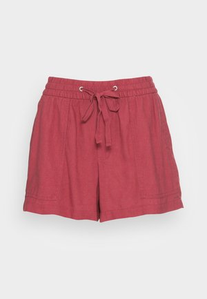 PULL ON UTILITY SOLID - Shorts - red clay