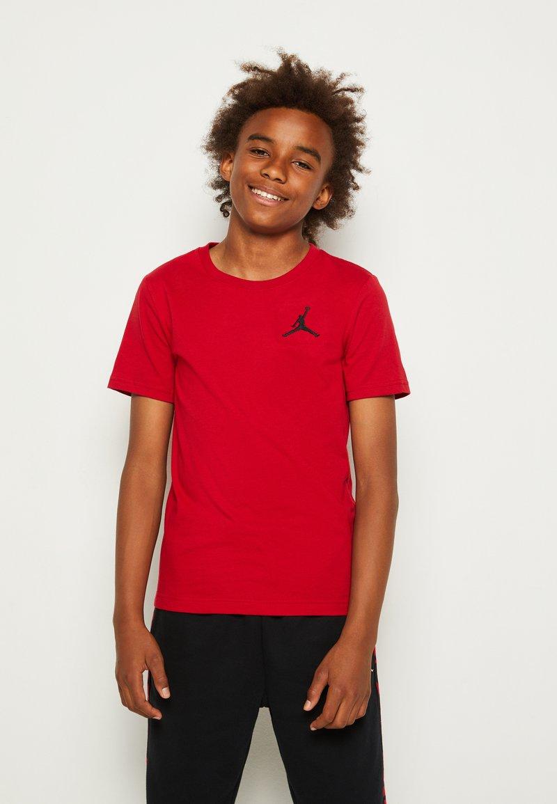 Jordan - JUMPMAN AIR - T-shirt con stampa - gym red