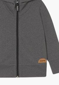 Papu - ZIP HOODIE UNISEX - Mikina na zip - grey - 2