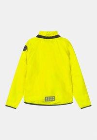 LEGO Wear - JORI 201 JACKET UNISEX - Waterproof jacket - neon yellow - 2