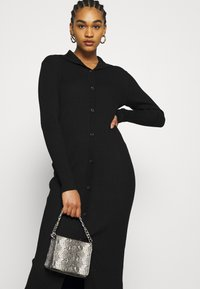Monki - KATJA DRESS - Jumper dress - black - 4