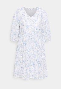 Marc O'Polo DENIM - DRESS WIDE SLEEVES - Day dress - scandinavian white - 0