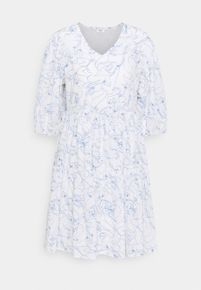 Marc O'Polo DENIM - DRESS WIDE SLEEVES - Day dress - scandinavian white