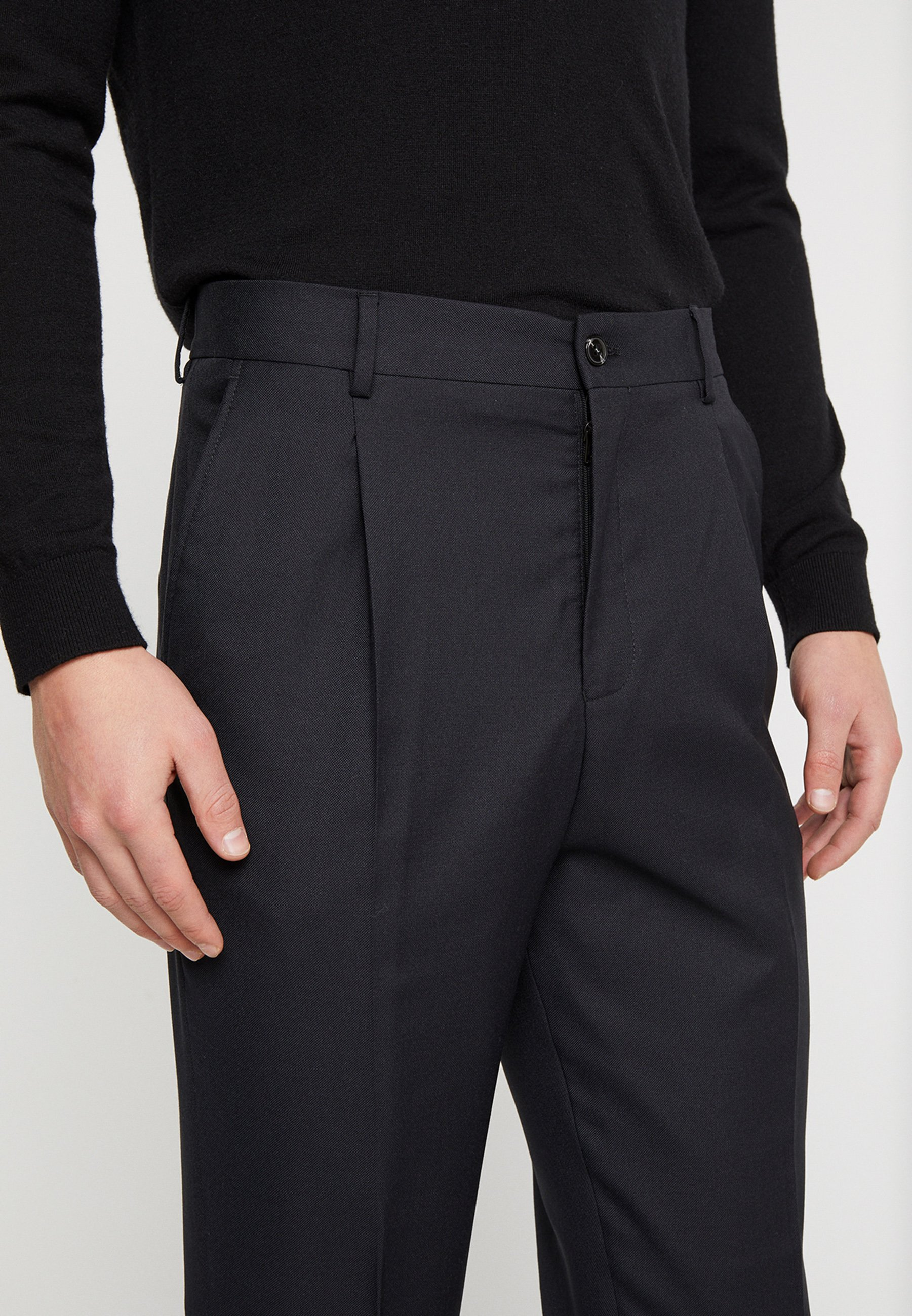 JPRPHILIP HIGH WAIST TROUSER Dressbukse black