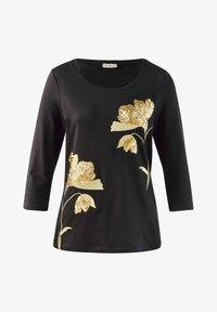Alba Moda - Long sleeved top - schwarz beige - 4
