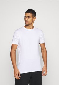 Denim Project - 5 PACK  - T-shirt basic - black/white - 1