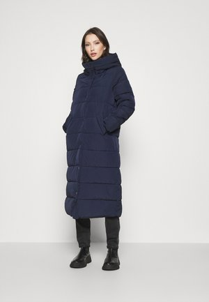 ONLCAROLINE QUILTED LONG COAT - Winter coat - night sky