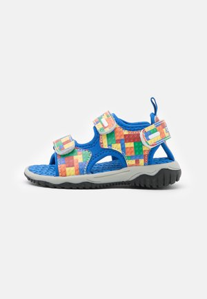 Sandals - multicolor/royal
