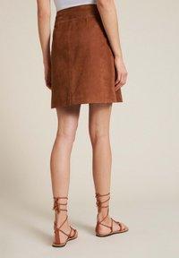 Luisa Spagnoli - TISANA - A-line skirt - tabacco - 1
