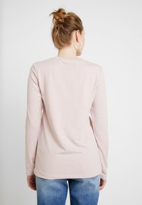 Superdry - DUNNE STRIPE GRAPHIC - Long sleeved top - pink - 2