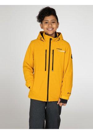 Lyžařská bunda - dark yellow