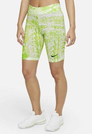 Pantaloncini sportivi - white/light lemon twist