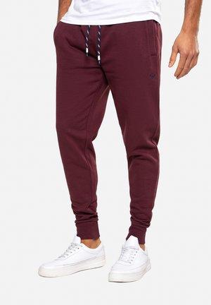 TRIFOLIATE - Pantalon de survêtement - burgundy