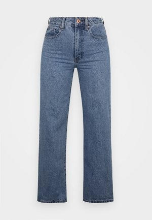 WIDE LEG - Relaxed fit jeans - lucky blue