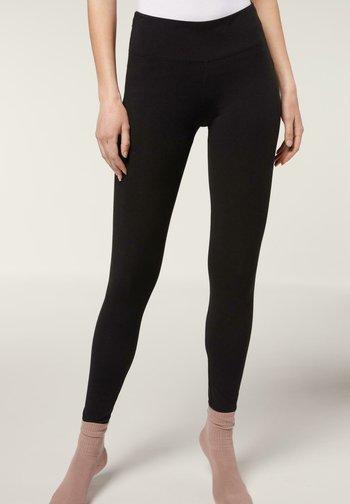 Leggings - Trousers - nero