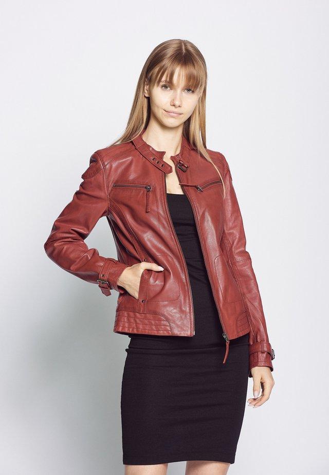 RYANA - Leren jas - red